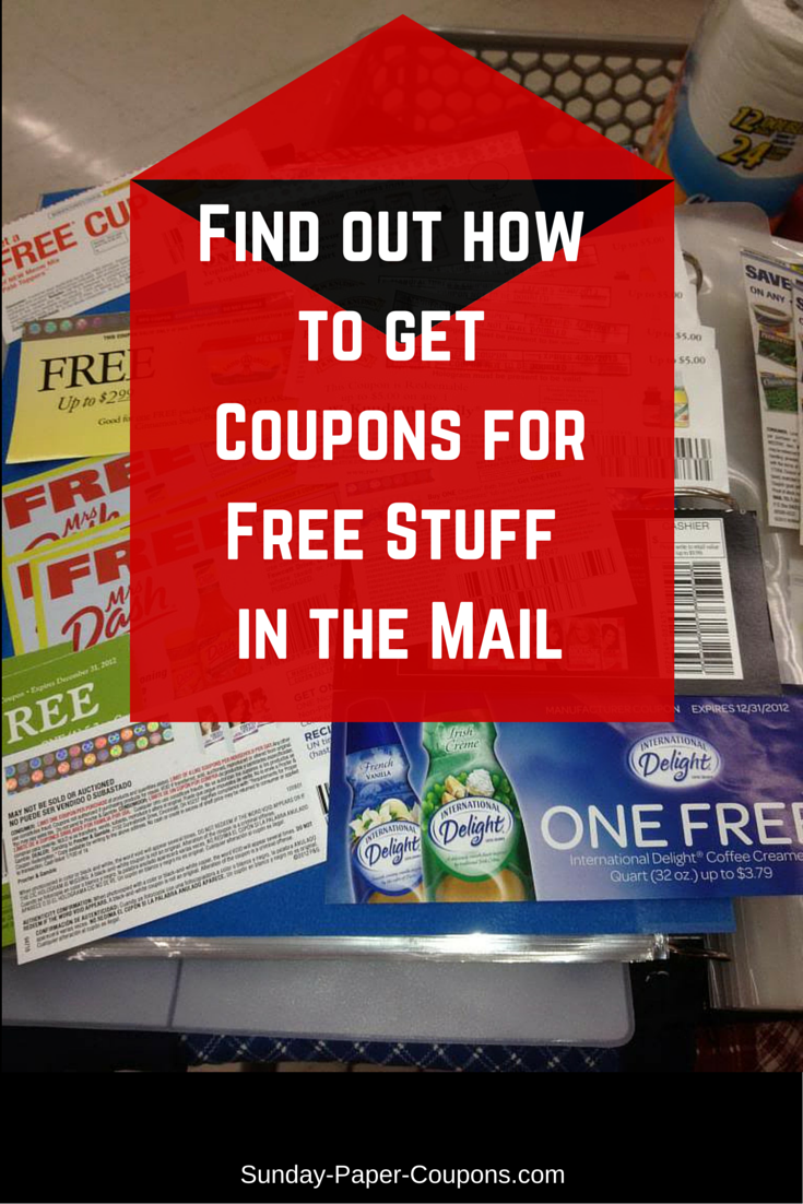 How to get products for free with coupons