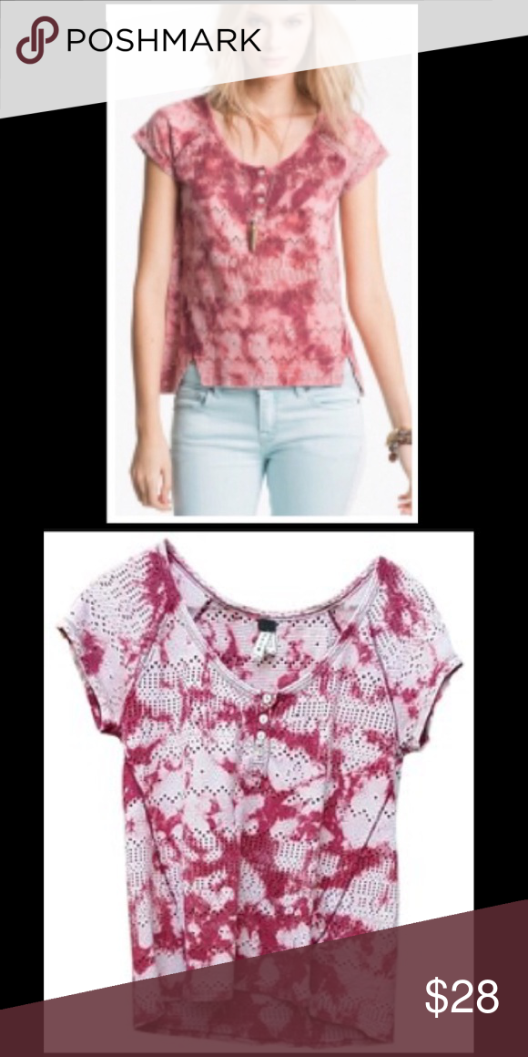 Free People Tie Dye Collection shirt Great condition! Free People Tops Tees - Short Sleeve