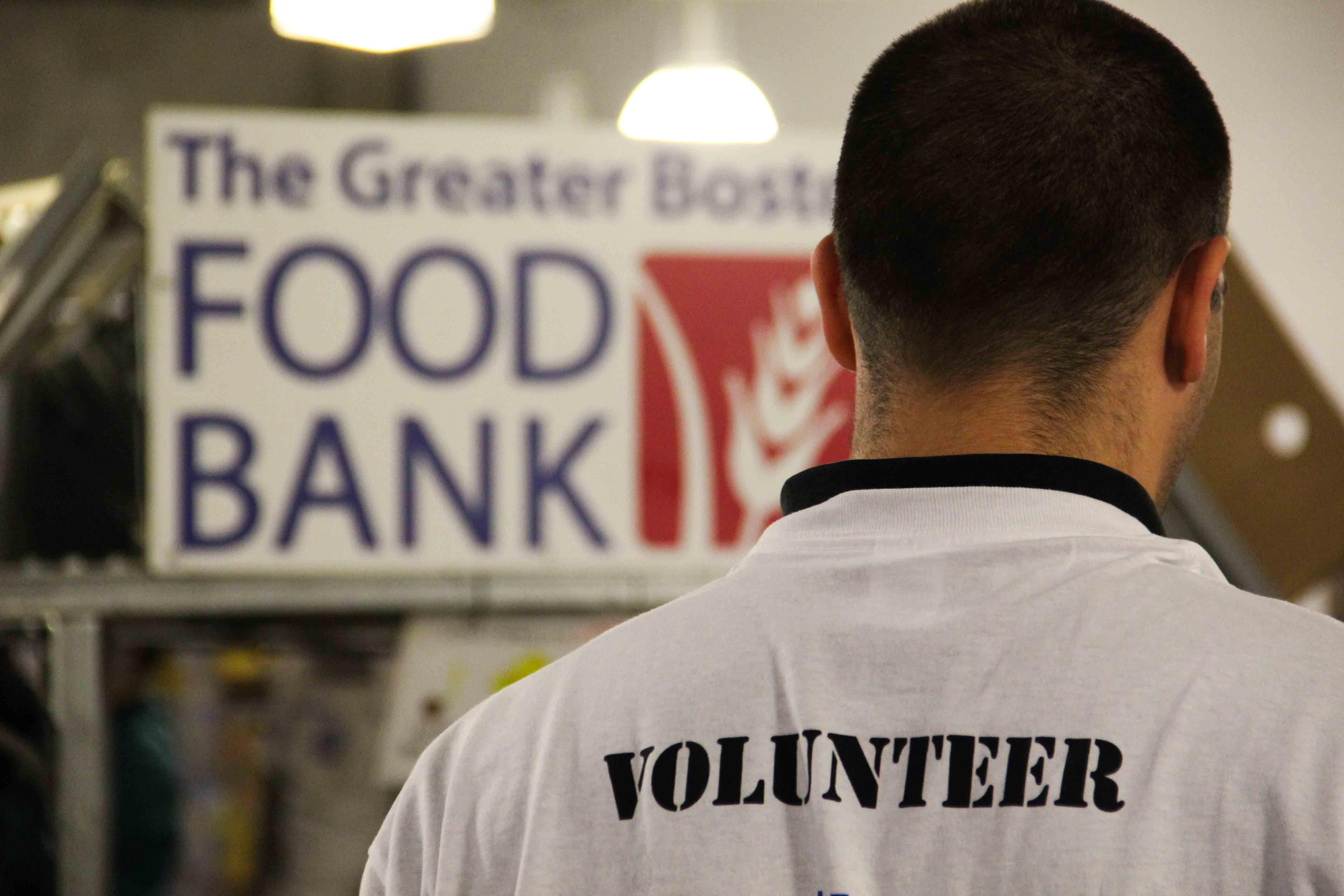 Footwearcares Volunteer At Boston Food Bank Boston Food Food Bank Volunteer Food Bank