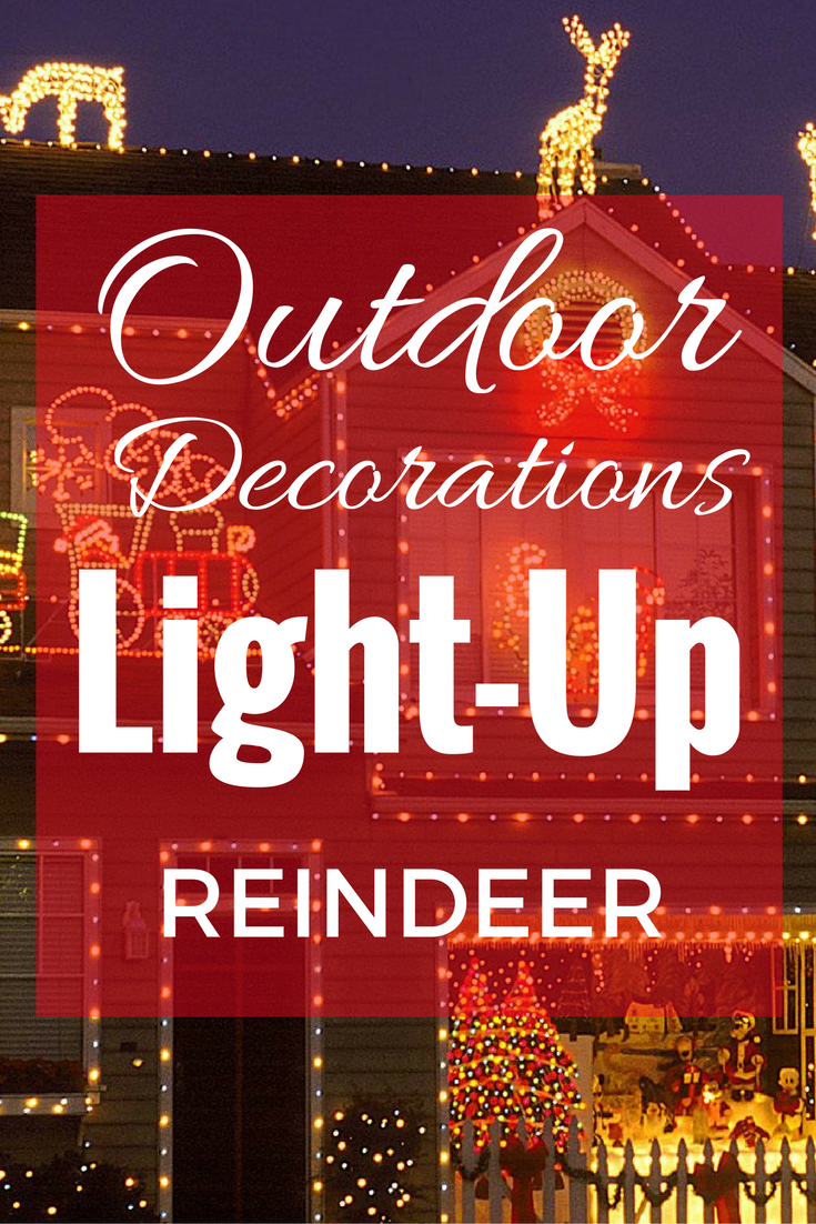 Light up reindeer outdoor yard decoration christmas preps finest light up reindeer outdoor yard decoration aloadofball Choice Image