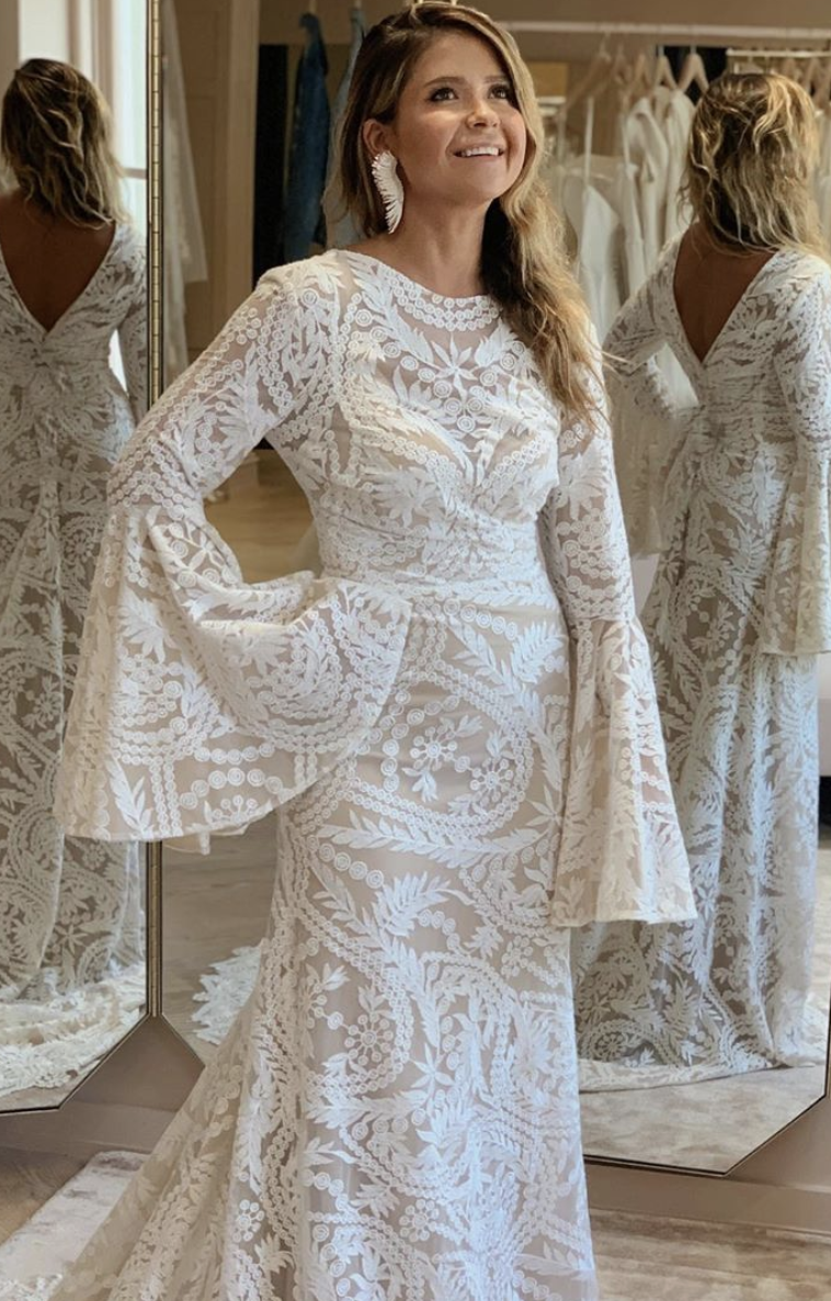 The Vagabond Lotus Is The Perfect Wedding Dress For Boho Lace