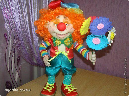Как сделать из колготок клоуна comment фото 921