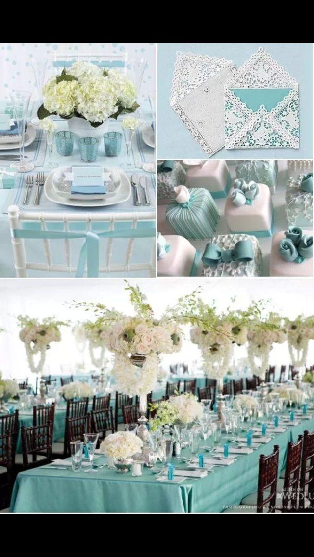 Tiffany Blue Wedding Ideas For 2014 Lights Weddings And Wedding