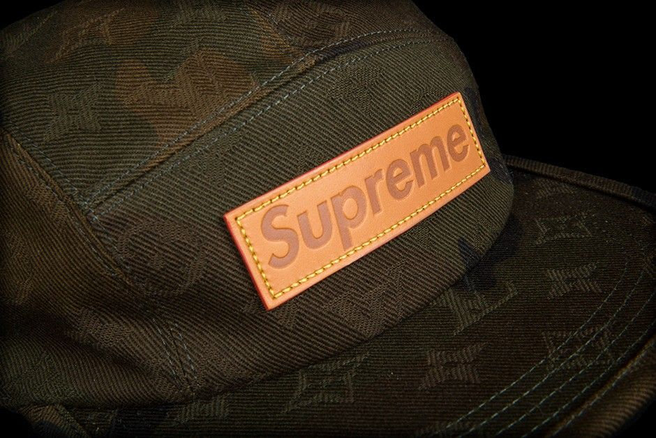 Three of these Louis Vuitton X Supreme Camp Caps for a client in Singapore.   louisvuitton  supreme  baseballcap  singapore  TheLuxeLink   ... 7d93f278bd3b