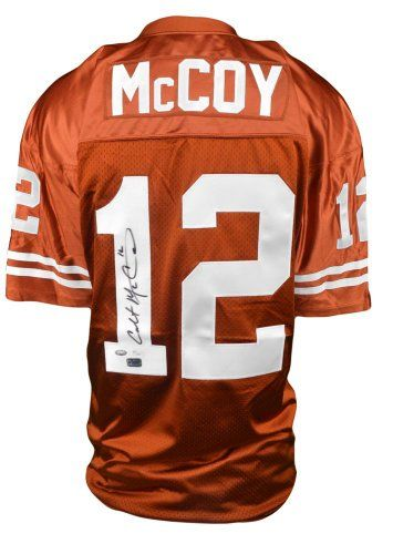 af6f01087 Colt McCoy Autographed Jersey - Texas Longhorns - JSA  amp  AAA. All of our