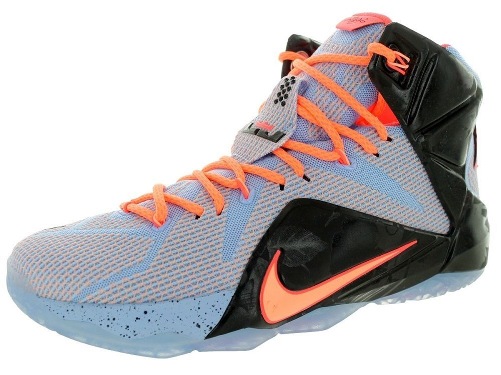 b1900888f3bb5 Nike Men's Lebron XII Easter 684593 488 Aluminium/Sunset Glow/Lava ...