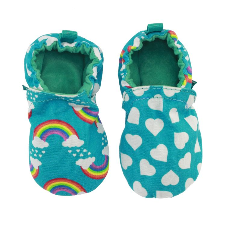 Chooze Baby Girl Boy Stay Put ADORABLE MISMATCHED Booties