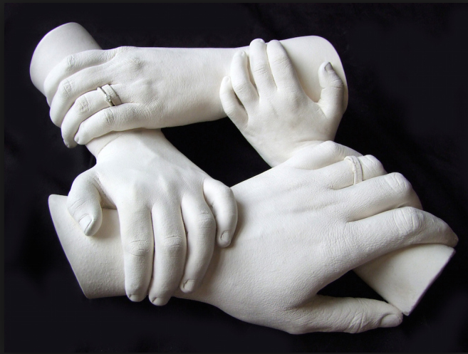 Family Hand | Hand | Plaster hands, It cast, Hand cast