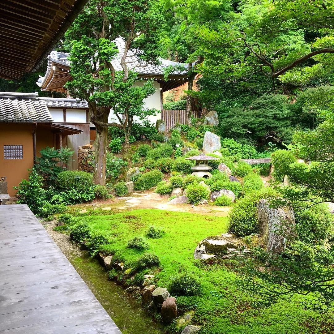 お庭♬ ゜ 枯山水 ´꒳ 癒される ノ Ω ヾ ♡ Japanese Garden Japan 400 x 300