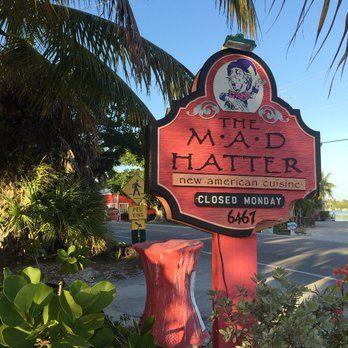 Best Sunset In Sanibel Mad Hatter Restaurant Fl United States