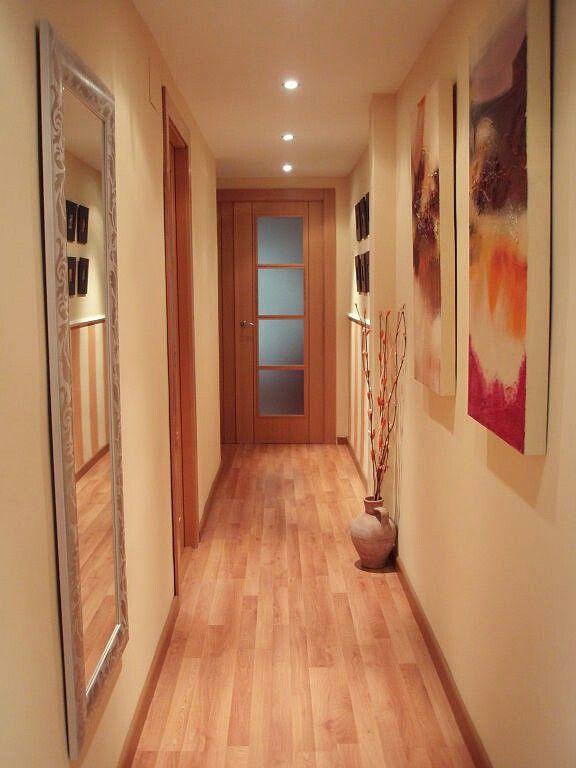 Decorar pasillos estrechos c mo pasillos estrechos - Cuadros para recibidor ...