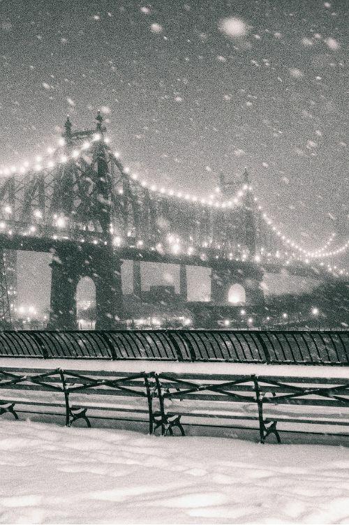 Vivienne Gucwa - New York Snow - Sutton Place