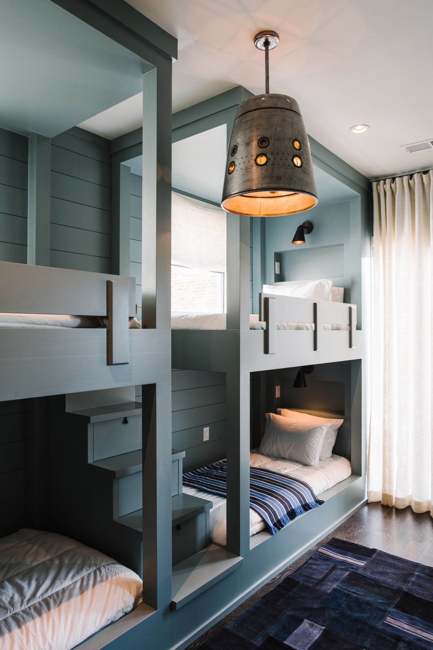 Bunk Beds Designs For Kids Rooms: Built In Bunk Beds. I'm Need My Honey To Learn How To