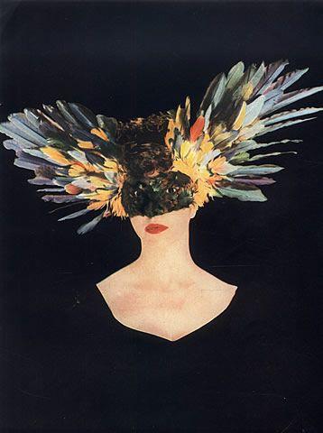Leonor Fini 1946 Feathers #Mask