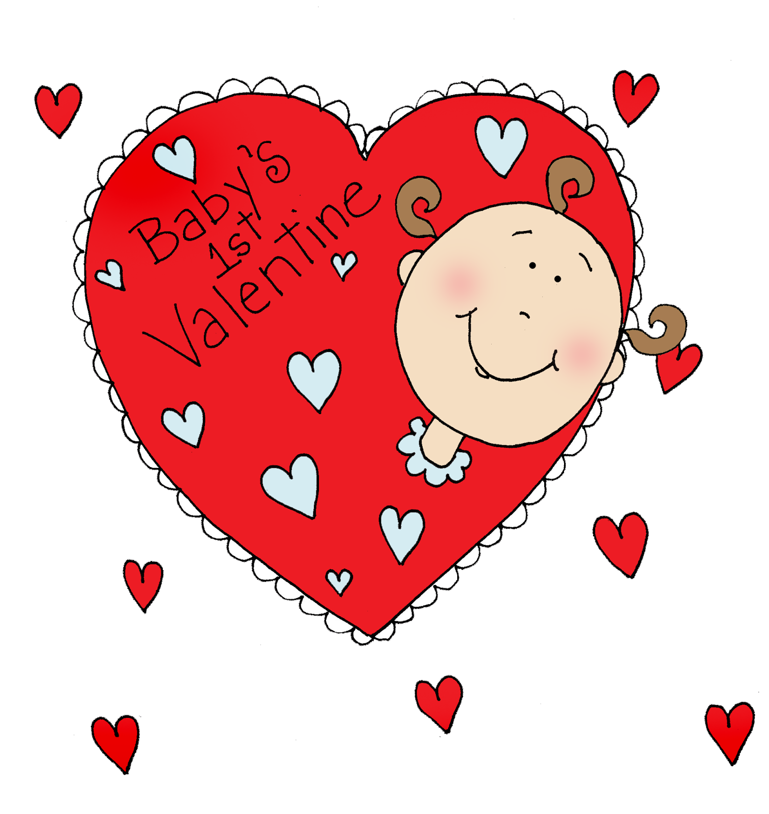 Free Dearie Dolls Digi Stamps Baby S First Valentine Dearie Dolls Digi Stamps Digi Stamps Free Digi Stamps