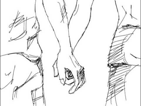 Image result for boy and girl hold hands drawing | Animated Short