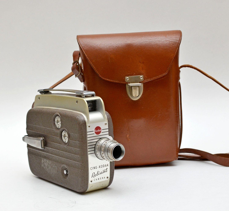 Vintage CineKodak Reliant 8MM Film Camera (с изображениями)