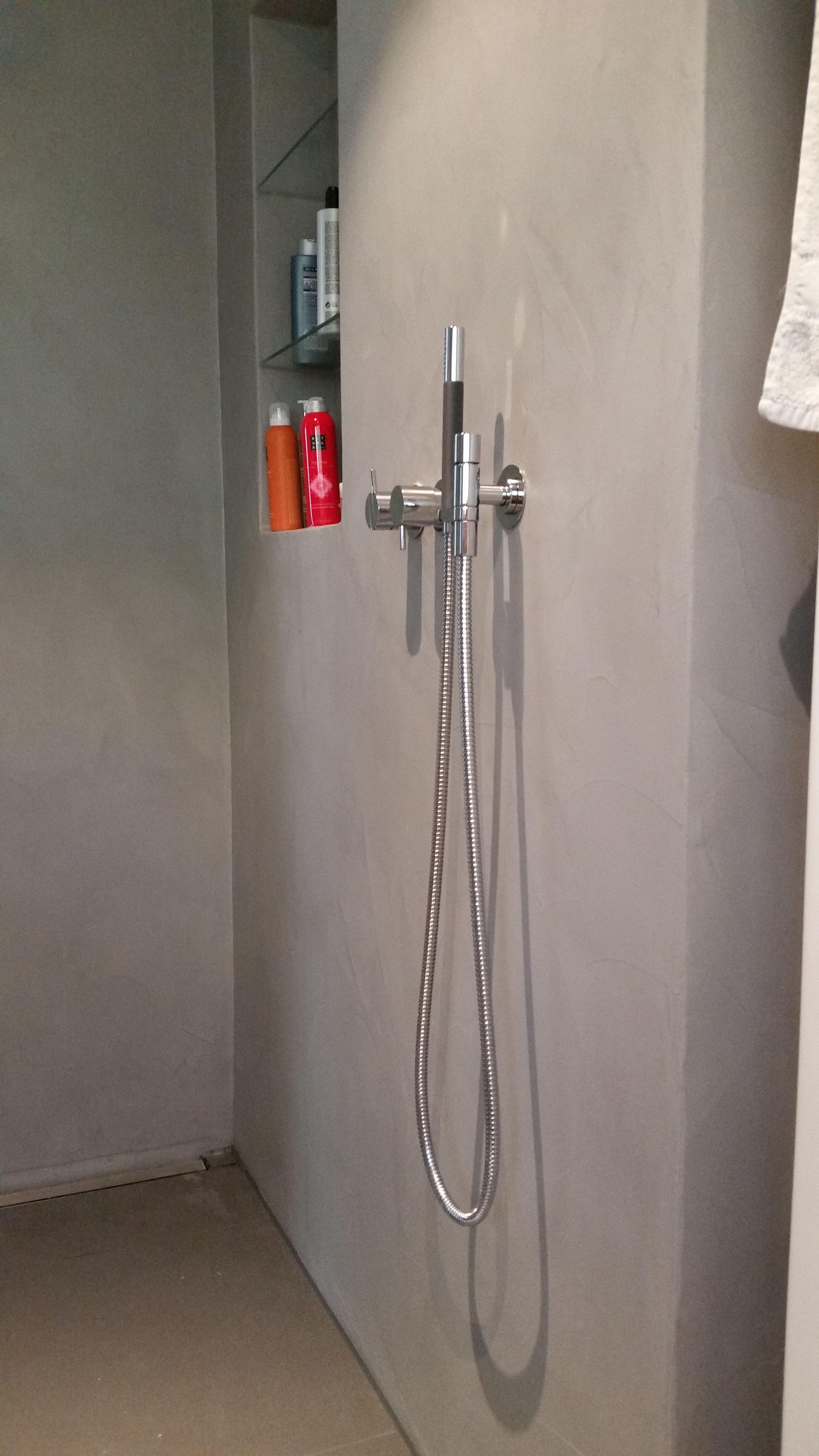 Dusche fugenlos Crearev MSM 103 von Beton2 , Boden