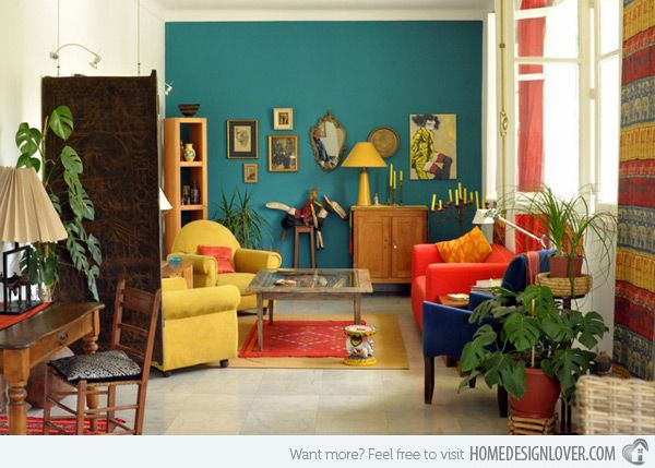 15 Awesome Retro Inspired Living Rooms | Home Design Lover