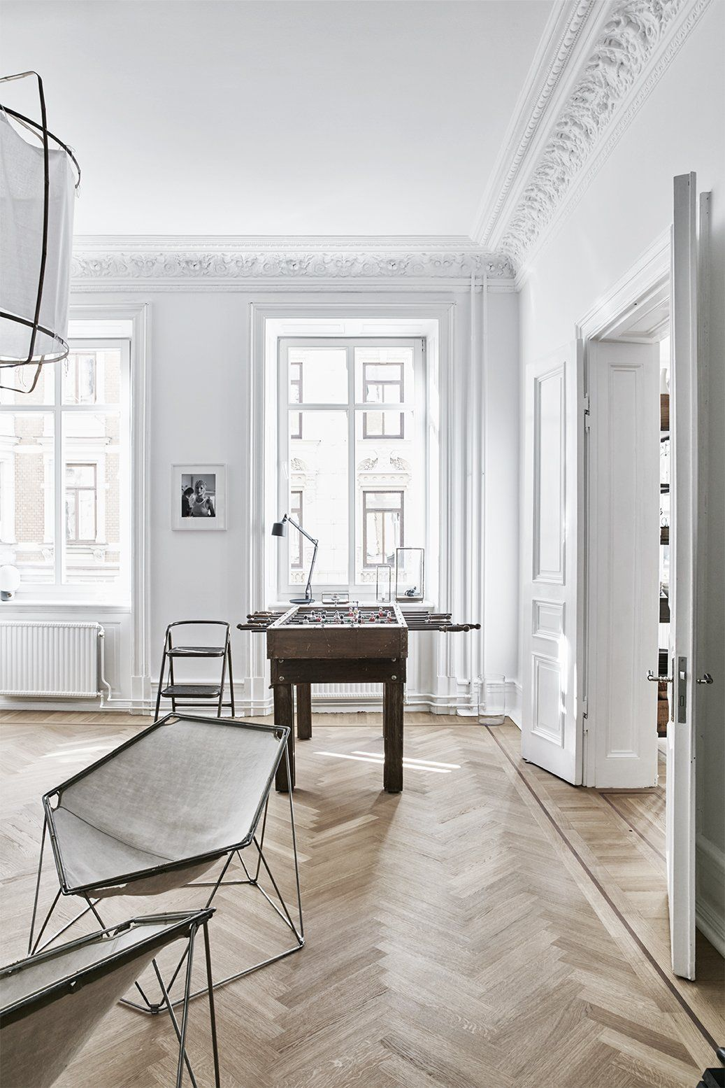 A careful renovation of a 19th century flat in gothenburg brings it back to life photo 5 of 11 the penta chairs are by kim moltzer and jean paul barray