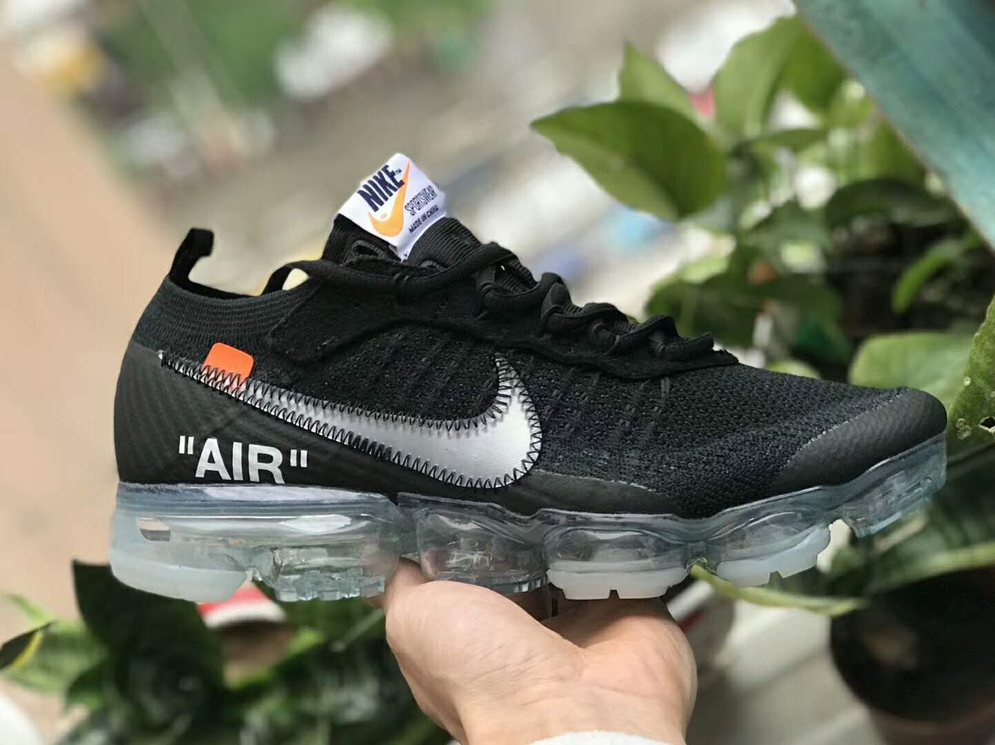 46d5df10e61 Off-White x Nike Air VaporMax 2018 Black AA3831-002