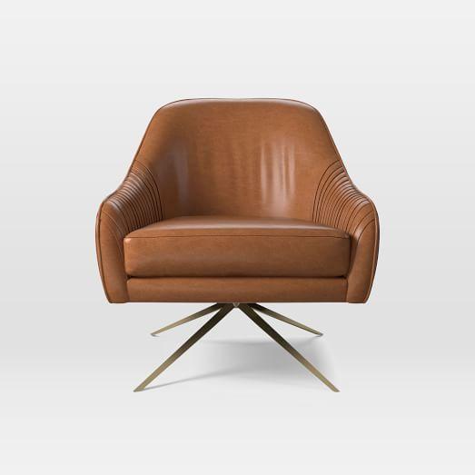 Roar Rabbit Trade Swivel Chair Leather Swivel Chair Leather Chair Leather Swivel Chair