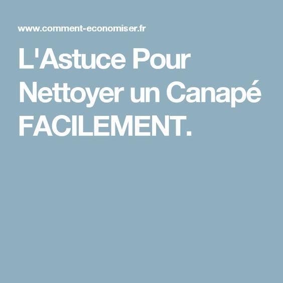 L 39 astuce pour nettoyer un canap facilement astuces - Nettoyer canape tissu bicarbonate de soude ...