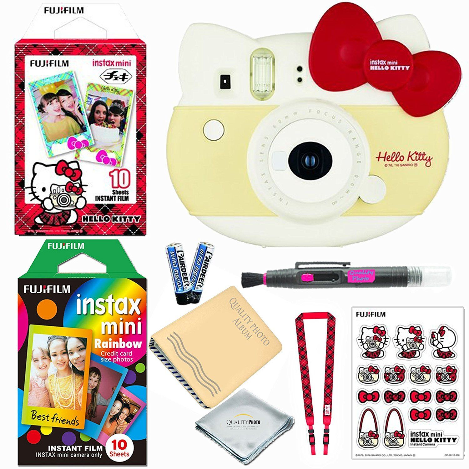 Fujifilm Instax Mini Hello Kitty Instant Camera Red Limited