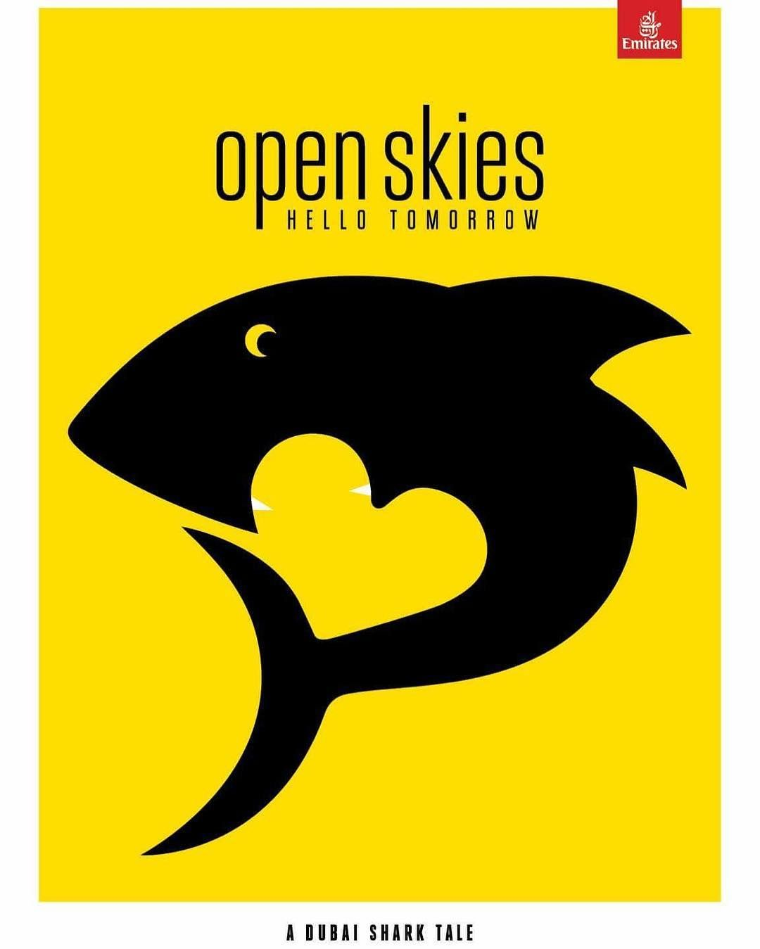 Noma Bar Open Skies Magazine Cover Noma Bar Negative And Positive Space Space Illustration