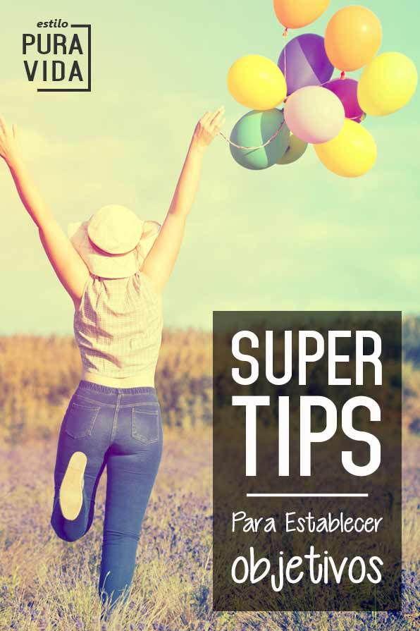 Super Tips Para Establecer Objetivos Que Puedes Lograr Objetivos De Vida Metas En La Vida Objetivo