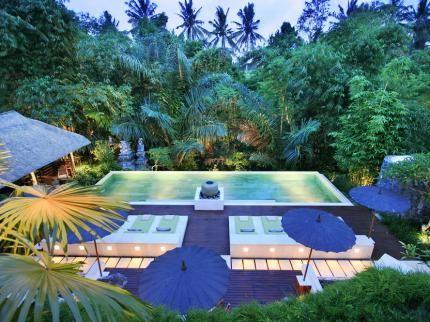 The Purist Villas Ubud Bali Laterooms