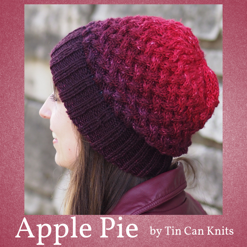 Apple Pie Hat Kit, ready to ship | Knitted hats, Knitting ...