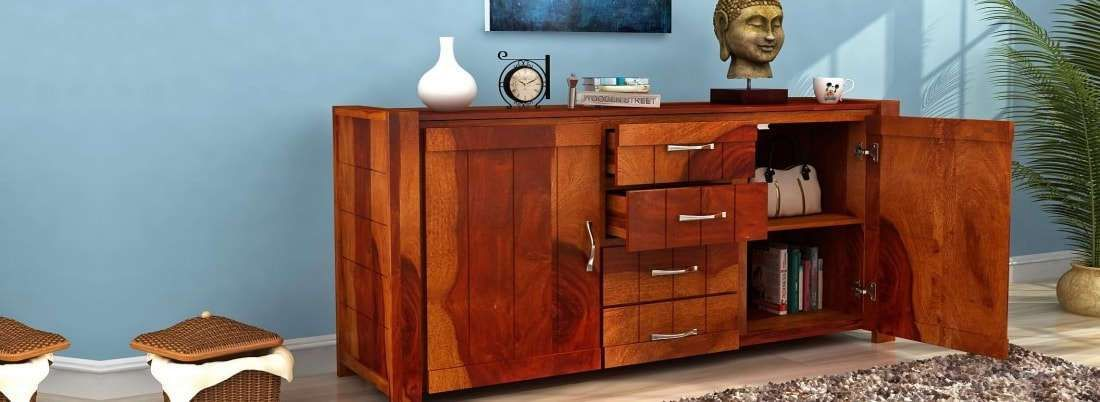 Get Cabinet Sideboards online India from wide range of Dining Room ...