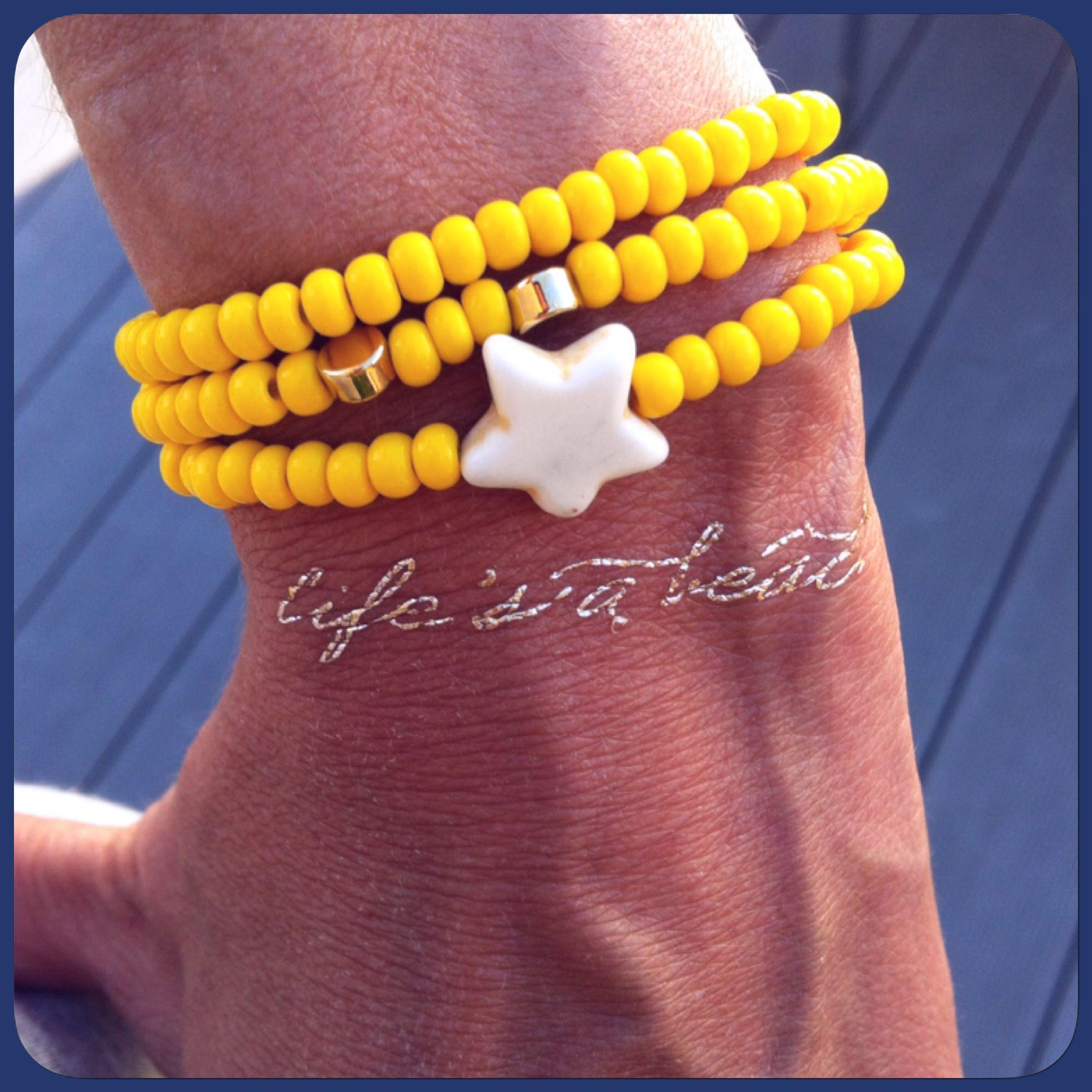 Bracelet Sunny perles d'Au
