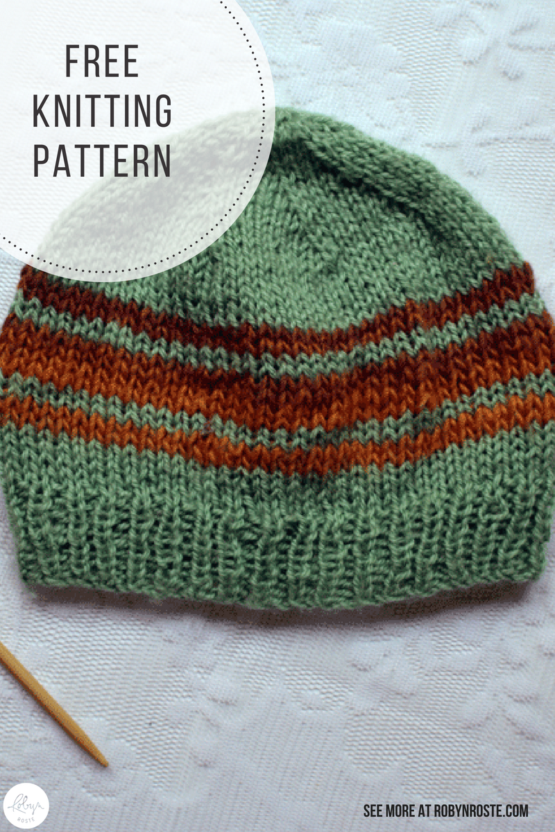 Easy Toque Pattern (For the Aunts | Knitting | Knitting ...