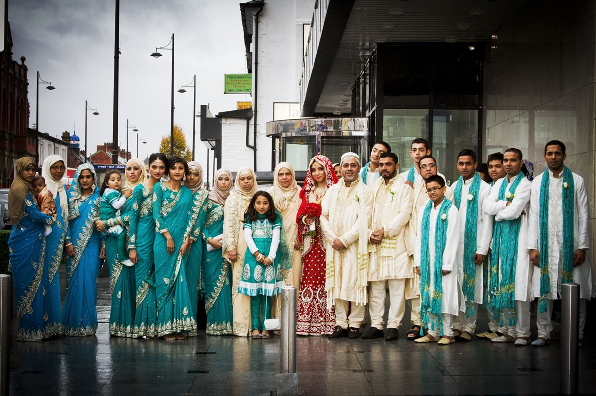 asian wedding photography east midlands%0A Family Portrait  Asian Wedding in Manchester  UK   wedding  family   photography
