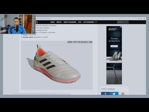 ea2098fab5a285 We talk about the all new Adidas Copa Tango 19 Indoor shoes. The shoes  feature