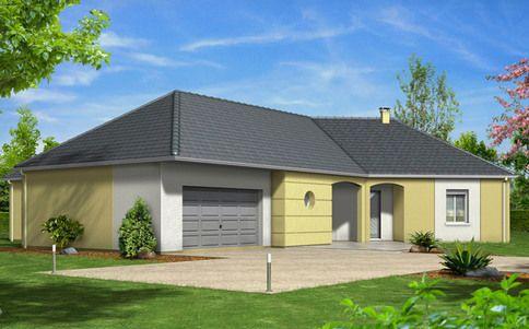 Plan maison familiale Persée maison Pinterest Plans maison - plan de maison en l de plain pied gratuit