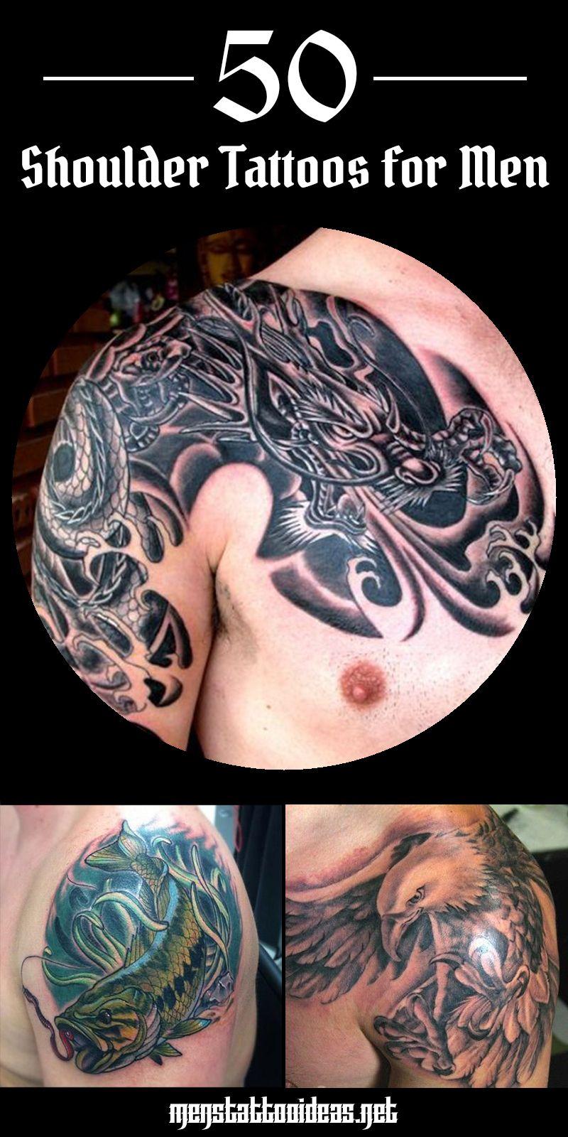 Shoulder Tattoos For Men   Designs on Shoulder for Guys   Mens ...