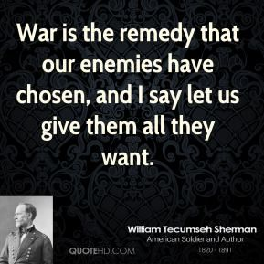 Quotes About War More William Tecumseh Sherman Quotes On Www.quotehd  #quotes .