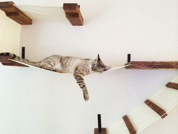 Deluxe Playplace kat hangmat planken door CatastrophiCreations
