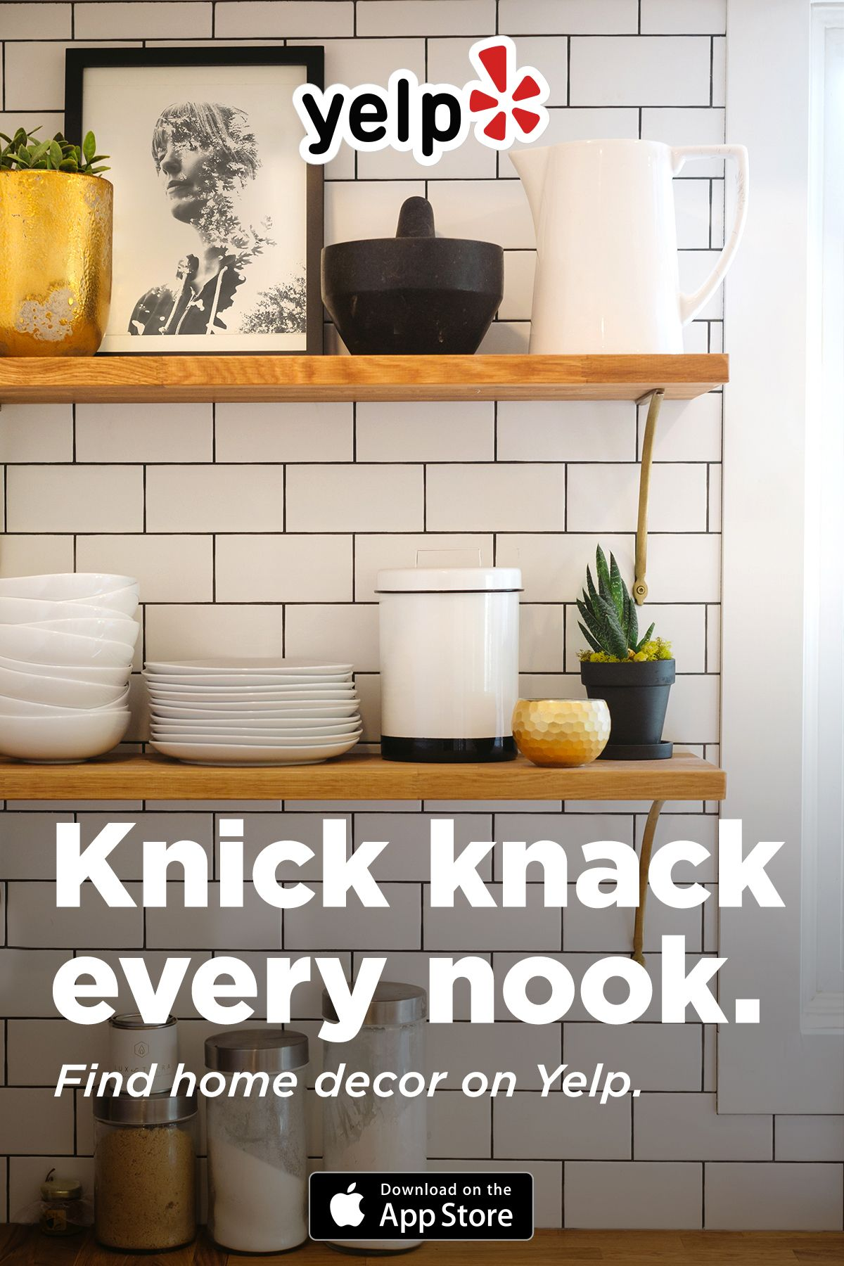 Some See A Nook You See A Design Opportunity We Do Too Download Yelp To Find The Best Home Decor Stores Kitchen Remodel Kitchen Redo Kitchen Utensils Store