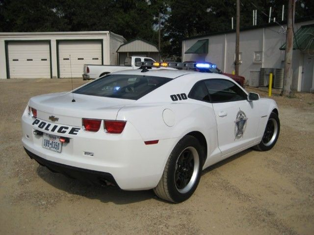 Police Camaro Sits Idle In Texas City Camaro Police Cars Police