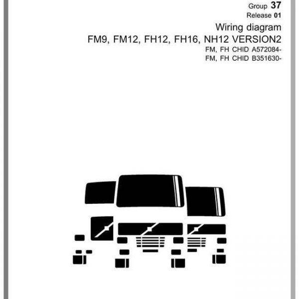 Volvo Truck Fm9 Fm12 Fh12 Fh15 Nh12 Version 2 Wiring