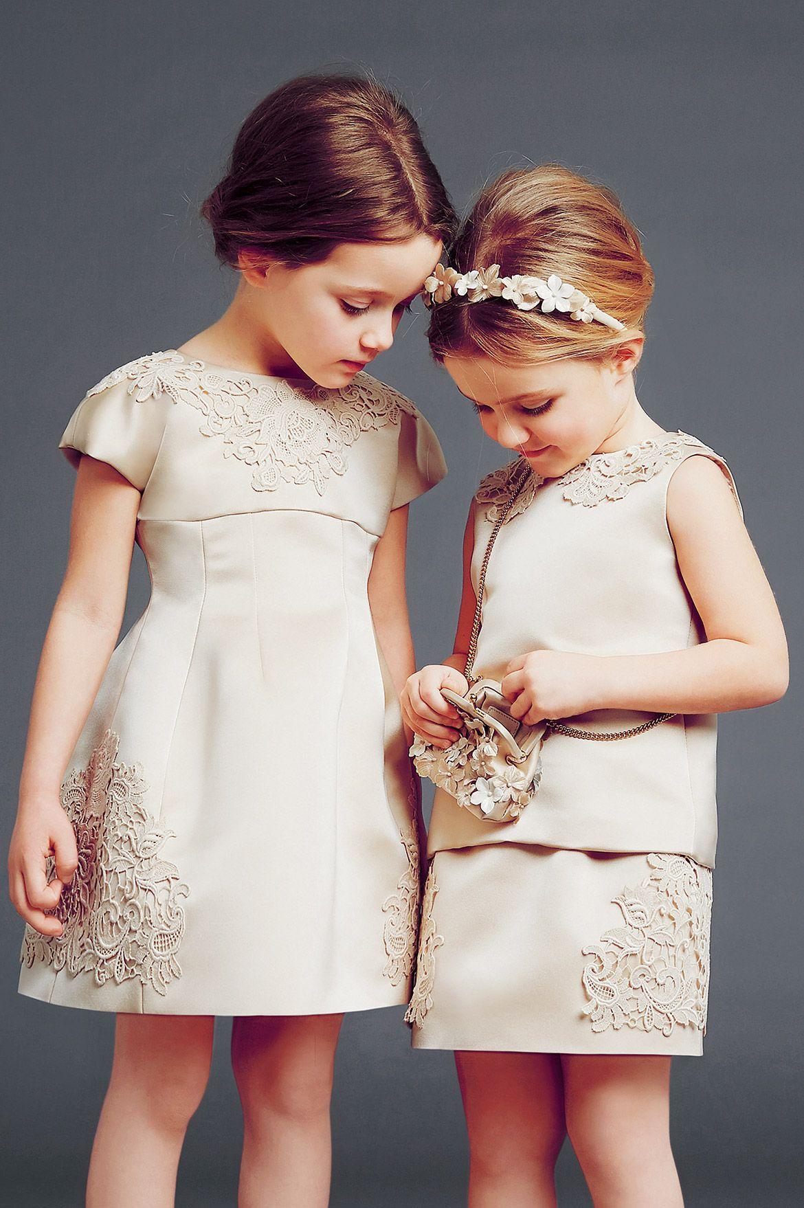 Dolce and gabbana fw girls couture dress minhas coisas
