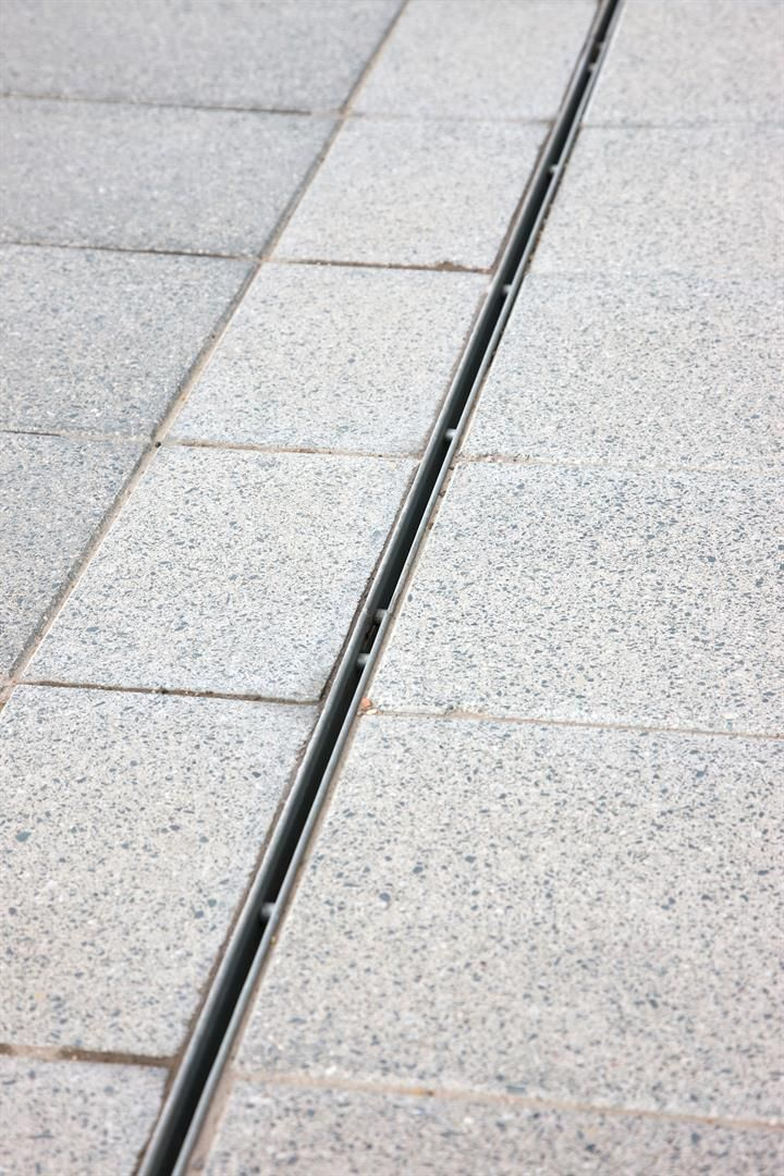 Mono Slot Drain Discreet Linear Drainage System  Details  Pinterest  조경, 조명 ...