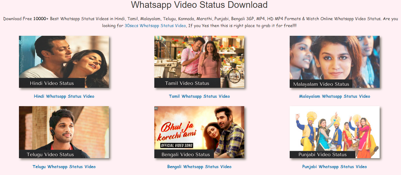 whatsapp status video kannada song download format