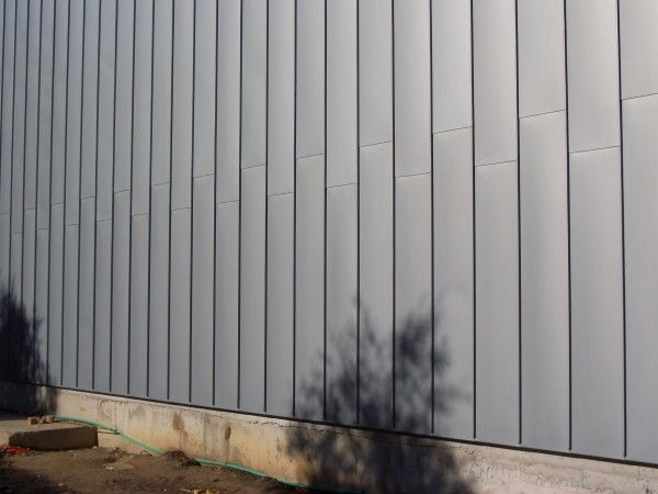 Best Zinc Façade Cladding Using Rheinzink Angle Standing Seams 400 x 300