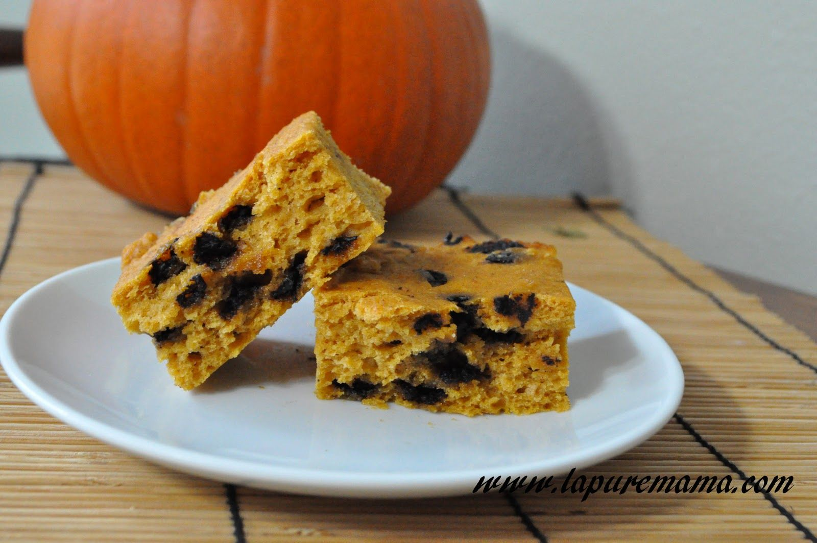 la pure mama.: Vegan Pumpkin Bars