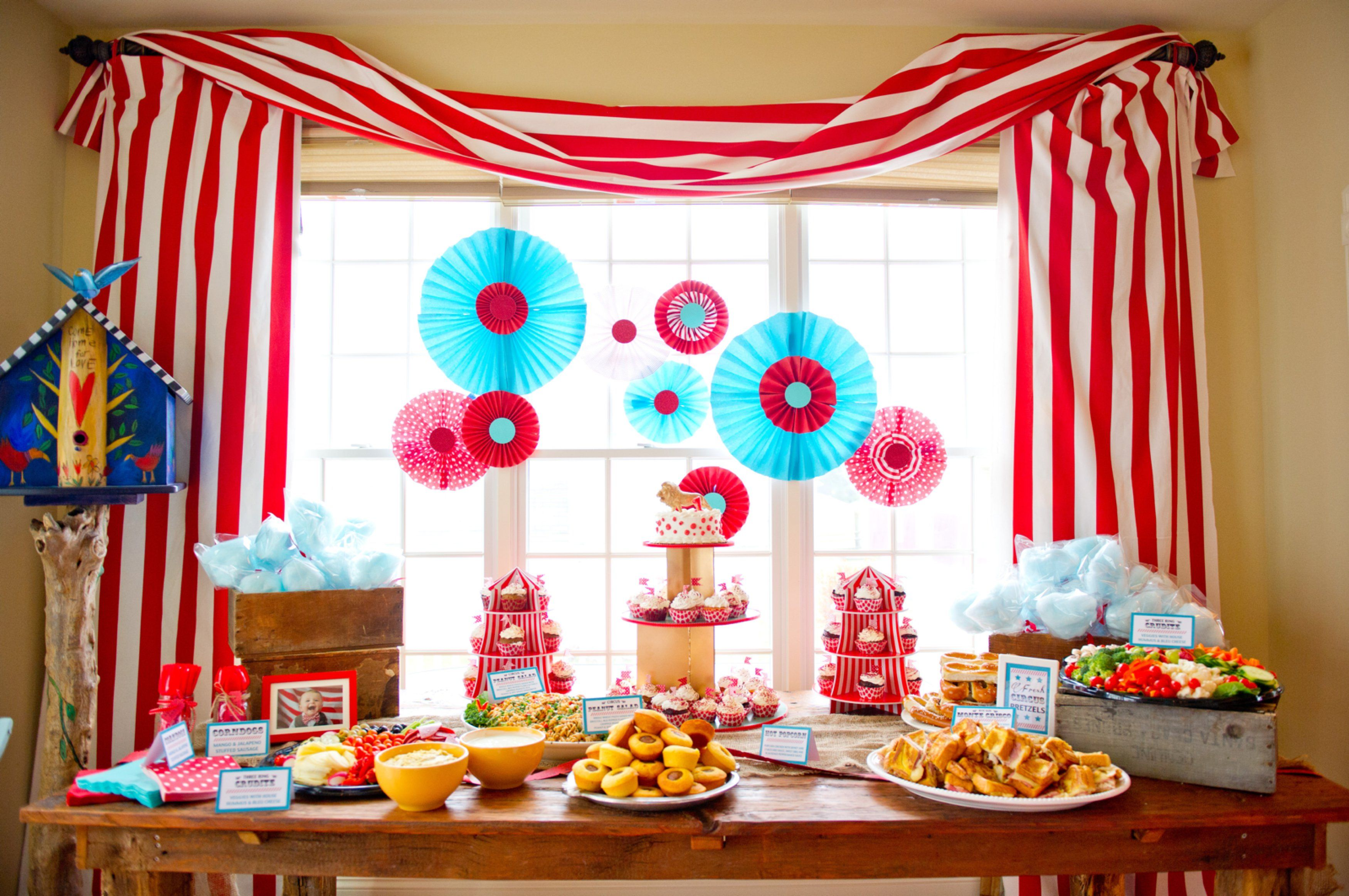 decorations supplies of decor uk party vintage circus decorating